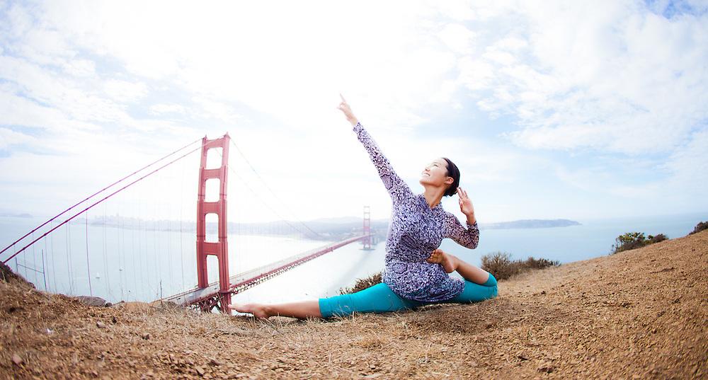 Minhee Cha at the Marin Headlines, San Francisco
