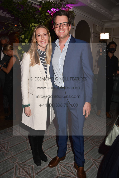 William Sitwell and Emily Lopes at the 2017 Fortnum &amp; Mason Food &amp; Drink Awards held at Fortnum &amp; Mason, Piccadilly London England. 11 May 2017.<br /> Photo by Dominic O'Neill/SilverHub 0203 174 1069 sales@silverhubmedia.com