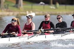 2012.02.25 Reading University Head 2012. The River Thames. Division 1. Vesta Rowing Club W.IM2 8+
