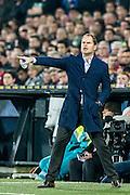 ROTTERDAM - Feyenoord - Ajax , Voetbal , KNVB Beker , Seizoen 2015/2016 , Stadion de Kuip , 25-10-2015 , Ajax trainer coach Frank de Boer