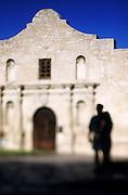 Image of the Alamo in San Antonio, Texas, American Southwest.