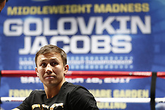 Gennady Golovkin vs Daniel Jacobs