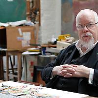 The BRIT Awards 2012 Sir Peter Blake in his studio