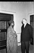 1962 - Dr. Franklin of Nigeria at Aras an Uachtarain