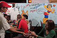 Carnival food in Holguin, Cuba.
