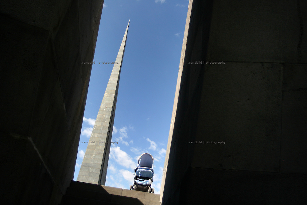 Genozid memorial in Yerevan, Capital of Armenia.
