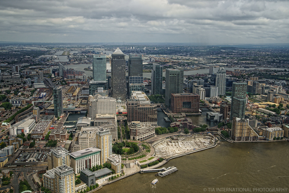 London - Aerial View, Canary Wharf