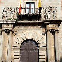 Europe, Spain, Toledo. Architecture of Toledo.
