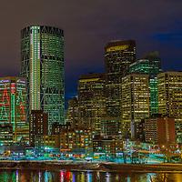 Calgary Cityscape at Night