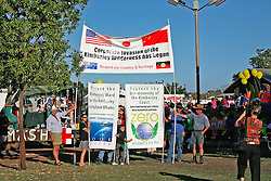 Protesters at the Boab Festival in Derby 2007