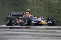 Alex Barron in the wet at Watkins Glen International, Watkins Glen Indy Grand Prix, September 25, 2005