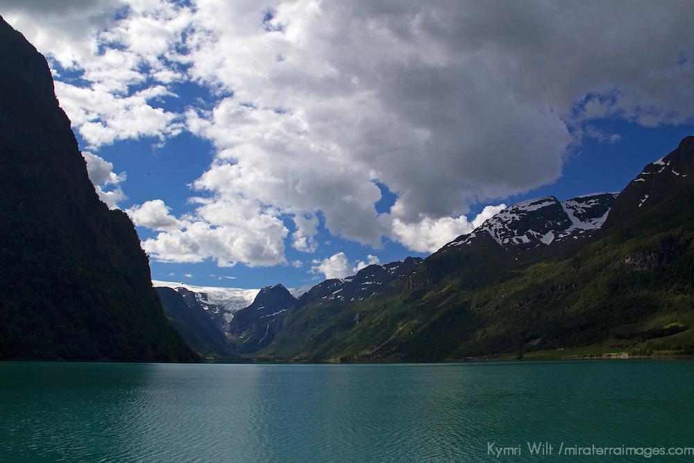 Europe, Norway, Olden. Lake