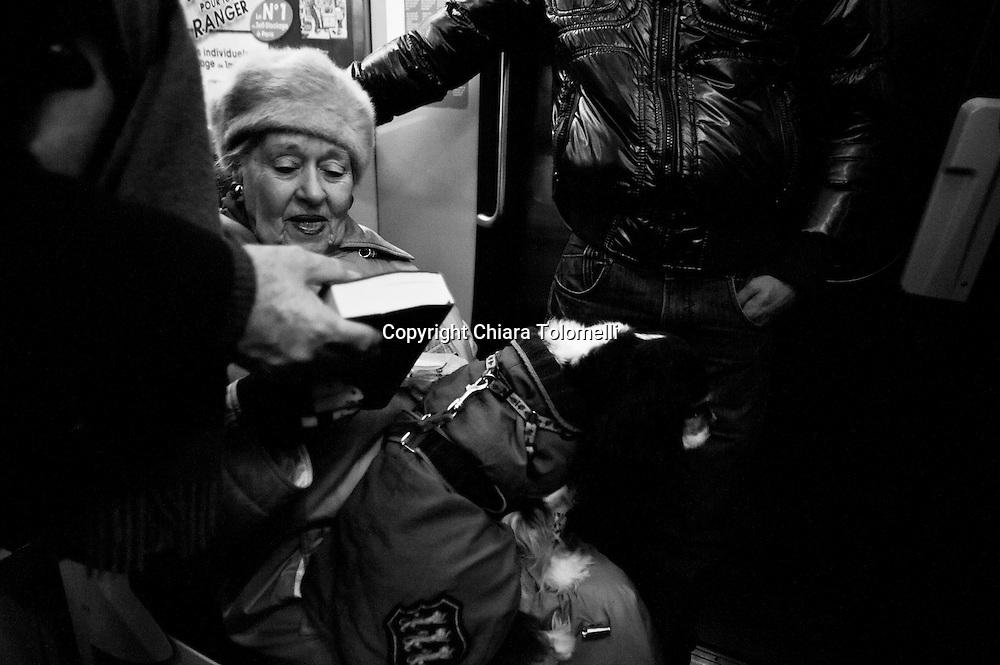 Quotidianità in metropolitana