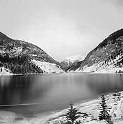 Frozen Spray Lakes, Winter