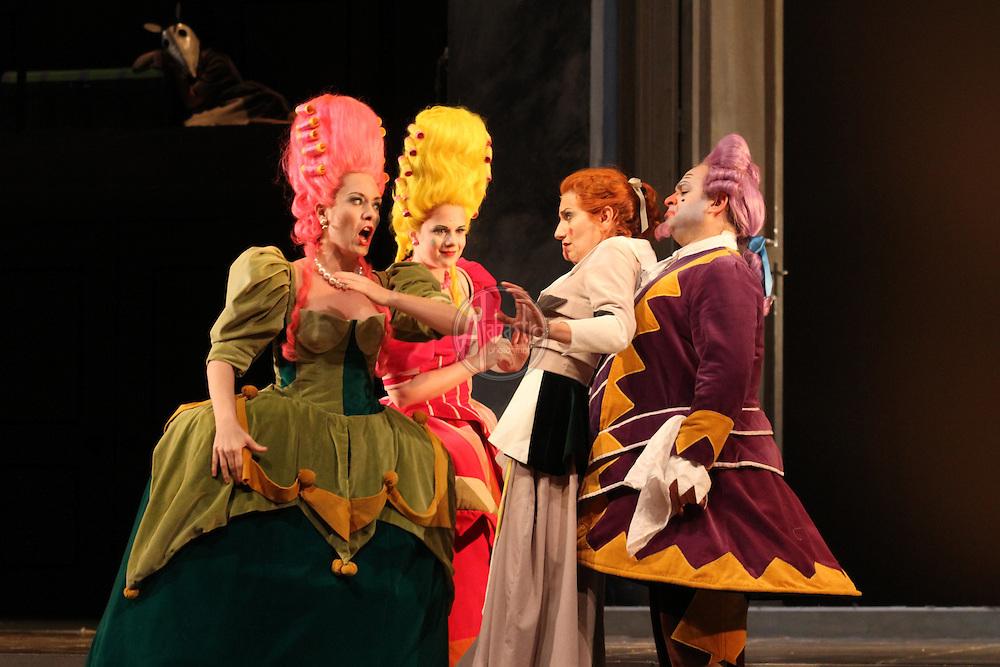 Seattle Opera performance of Cinderella (La Cenerentola).