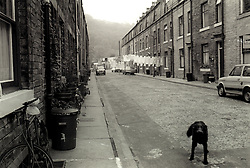 Hebden Bridge taken in 1986 whilst I was a photography student