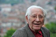 16/05/15 - THIERS - PUY DE DOME - FRANCE - Portrait de l ecrivain Jean ANGLADE dans sa 100eme annee - Photot jerome CHABANNE