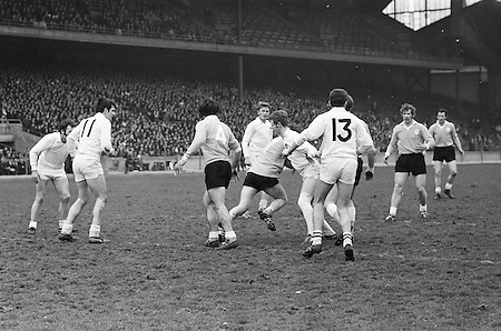 17.03.1971.Interprovincial Football Railway Cup. Connacht v Ulster.