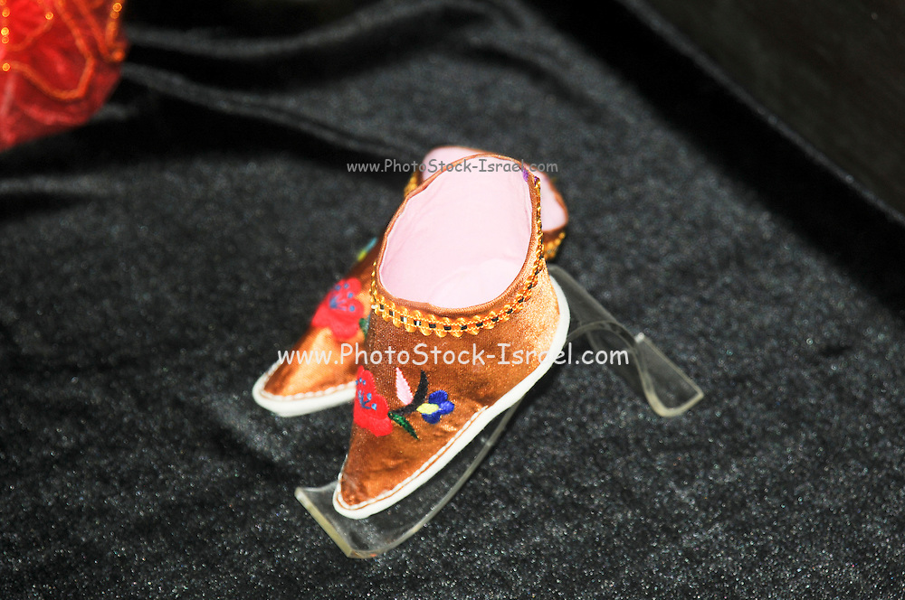 china, Zhejiang Province, Wuzhen, Special small shoes for bound feet