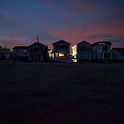 Amongst the rubble of destroyed homes one can still find a remarkable sense of hope and will in the community. The rebuilding of Breezy Point has already begun. Jonah Markowitz/Falcon Photo Agency