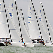 championnat du monde de J70 à La Rochelle en 2015