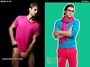 Color Blocking for Him for BELLO Magazine by Gabe Toth