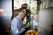 Anabela and Carlos taking their breakfasting in their kitchen at 10:00 AM. <br /><br />Anabela and Carlos, a  middle-class couple, are facing a new stage in their life with early retirement situation, learning and adapting to new schedules, new rituals, new interests and above all the desire to take advantage of this new reality.<br />Photo Credit: Pedro Nunes/4SEE