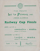 17.03.1957 Railway Cup Football Final