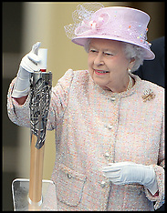 OCT 09 2013 Queens Baton Relay Launch at Buckingham Palace