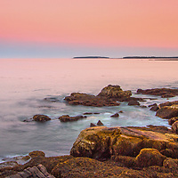 Maine Acadia National Park sunset seascape photographs are available as museum quality photography prints, canvas prints, acrylic prints, wood prints or metal prints. Wall art prints may be framed and matted to the individual liking and room decor needs:<br /> <br /> http://juergen-roth.pixels.com/featured/maine-juergen-roth.html<br /> <br /> Beautiful coastal Maine seascape sunset photography showing the unique seacoast painted in warm hues. The many faces of Acadia NP keep inspiring me and my photography. The National Park is located on Mount Desert Island. The park is one of the most visited in the United States and a paradise for every photographer and outdoor enthusiast. The park loop road provides easy access to many of the iconic photography subjects, such as Monument Cove, Sand Beach, Jordan Pond and the Bubbles, Otter Cliff to name only a few. The carriage roads and hiking trails provide further access to more remote locations where the park continues to inspire and unfolds its full magic. It is a heaven for macro, seascape, and landscape photography that makes for great wall art. Especially sunrise, sunset and the light of the golden hours paint the sky in beautiful colors and bring out the beauty of the granite rocks.<br /> <br /> Good light and happy photo making! <br /> <br /> My best, <br /> <br /> Juergen <br /> Image Licensing: http://www.RothGalleries.com <br /> Fine Art Prints: http://fineartamerica.com/profiles/juergen-roth.html <br /> Photo Blog: http://whereintheworldisjuergen.blogspot.com <br /> Twitter: https://twitter.com/naturefineart <br /> Facebook: https://www.facebook.com/naturefineart <br /> Instagram: https://www.instagram.com/rothgalleries