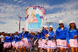 Realizada ha mais de 140 anos a Festa de Nossa Senhora do Rosário Catalao reune todos os Ternos de Congo, Catupes Catunda, Viloes, Mocambiques e Penacho de Catalao. Eh uma das maiores festas de Congado na regiao Centro Oeste./ Performed for more than 140 years the Feast of Our Lady of the Rosary combines all the Catalan Suits Congo, catupe Catunda, Villains, Mozambique and Plume Catalan. It is one of the biggest parties of Congo in the brazilian Midwest.
