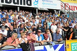Bristol Rovers fans - Mandatory byline: Neil Brookman/JMP - 07966 386802 - 26/09/2015 - FOOTBALL - Memorial Stadium - Bristol, England - Bristol Rovers v Portsmouth - Sky Bet League Two