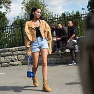 Denim and Boots, Outside Yeezy Season 4