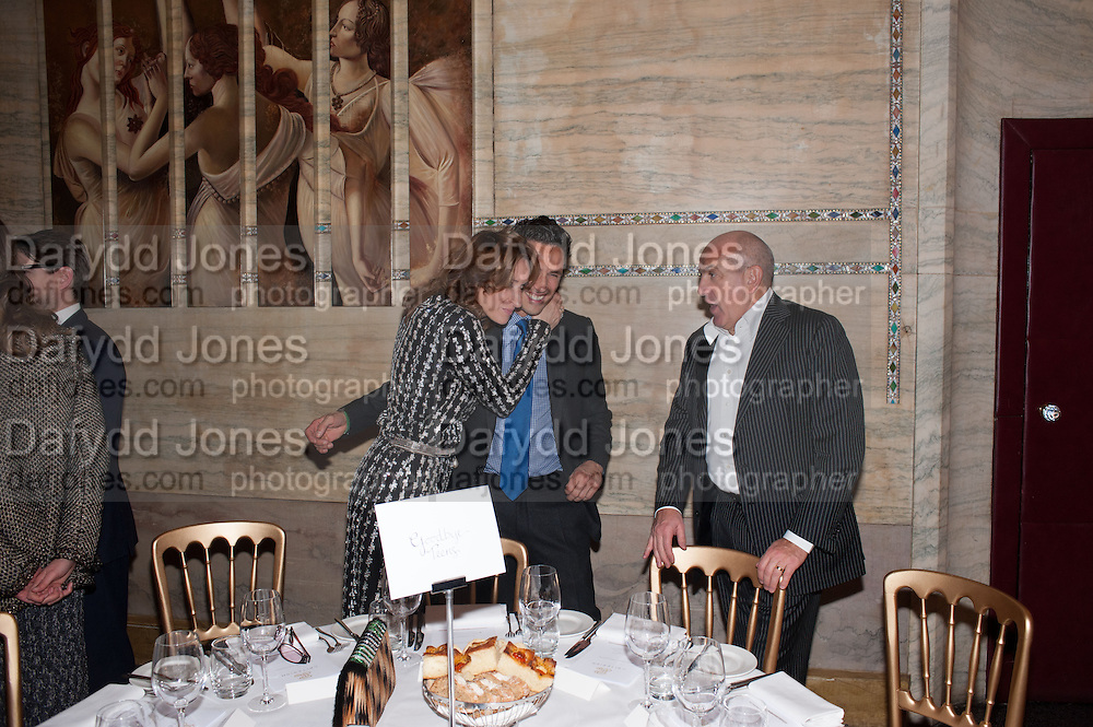 REBECCA KORNER; ANDREAS SIEGFRIED; ALEXANDER KRASNER; , Panta Rhei. An exhibition of work by Keith Tyson. The Pace Gallery. Burlington Gdns. 6 February 2013.