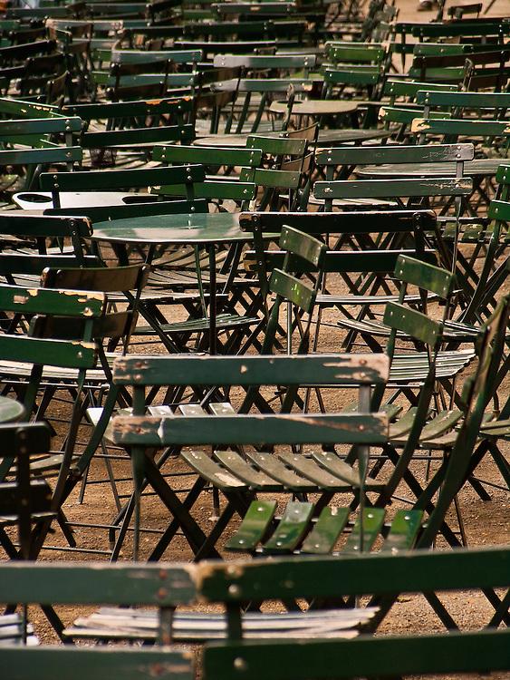 Empty Seats, Bryant Park, NY