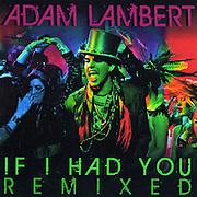 "Adam Lambert ""If I Had You"" CD Cover"