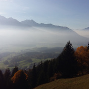 Tirol Austria alps in autumn