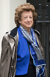 Downing Street, London, November 17th 2015. Baroness Anerlay arrives at Downing Street for the weekly cabinet meeting.
