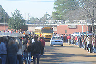 The Lafayette Commodores leave the school in Oxford, Miss. on Friday, December 3, 2010 to bus to Jackson, Miss. to face North Pike in the MHSAA Class 4A championship on Saturday.