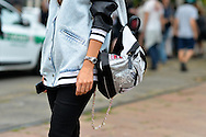 MSGM Backpack and Jacket, Outisde Gucci