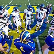 No.1 Delaware and No.15 Villanova on a brisk Saturday afternoon at Delaware stadium in Newark Delaware...