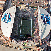 Aerial view of Seattle Seahawks Opening Day Game vs San Fransisco 49ers, Qwest Field, Seattle, Washington, September 26, 2004, ([Julia Robertson]/via AP Images)