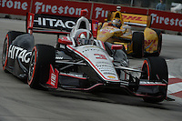Helio Castroneves, Cheverolet Indy Dual in Detroit, Belle Isle, Detroit, MI USA 06/01/13