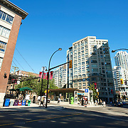 TheYaletown neighbourhood in downtown Vancouver BC, Canada