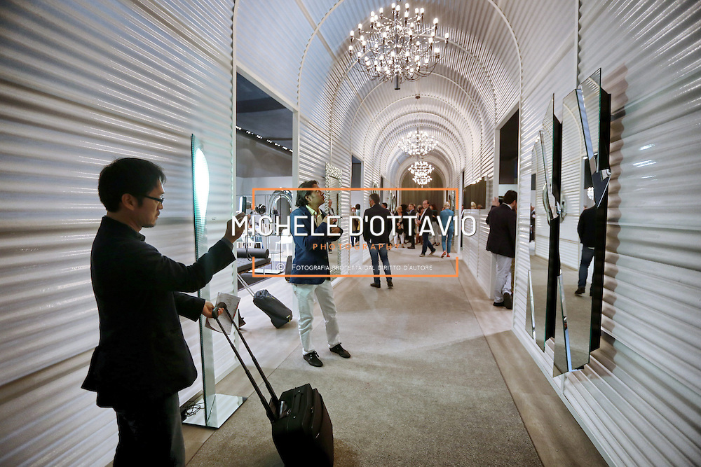 Cosmit Salone Internazionale del Mobile di Milano  &egrave; il punto di riferimento a livello mondiale del settore Casa-Arredo<br /> <br /> The Salone del Mobile is the global benchmark for the Home Furnishing Sector.