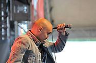 Bogdan Mezofi, lead singer of Grimus band @ Felsziget/Peninsula festival.