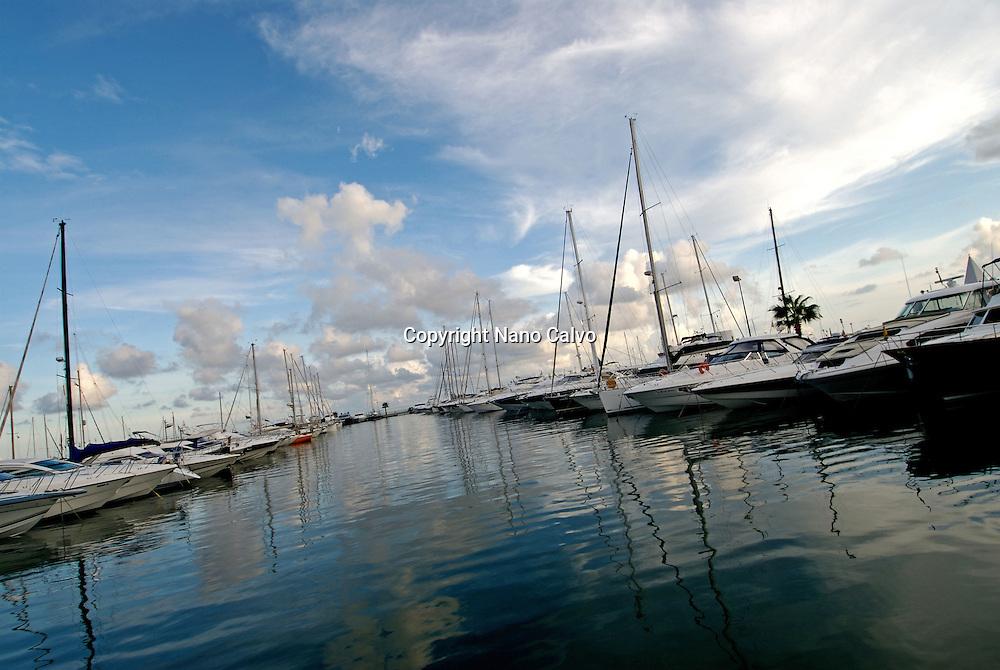 Sport port of Santa Eulalia del Rio
