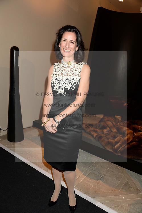 PRINCESS DEMETRA VON AUERSPERG-BREUNNER at the PAD Art and Design Fair 2013 Collectors Preview in Berkeley Square, London on 14th October 2013.