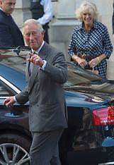 JUNE 14 2013 Royal Family visit The Duke of Edinburgh in Hospital