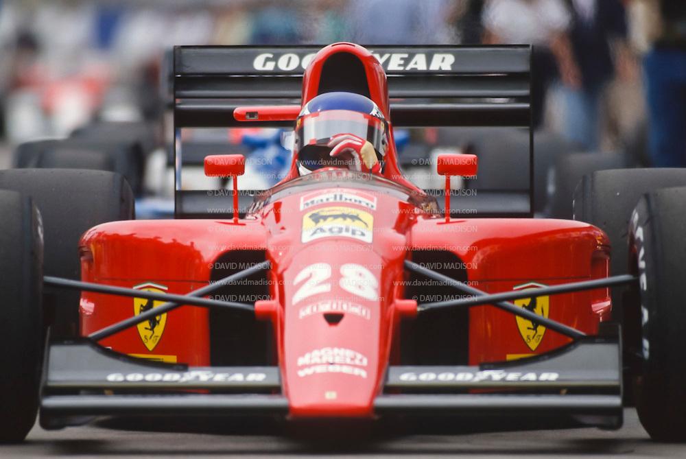 Jean Alesi 1991 F1 Us Grand Prix David Madison Sports